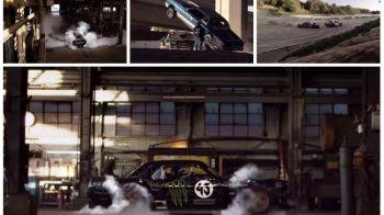 Gymkhana 7: Ken Block, dezlantuit pe strazile din Los Angeles in cel mai PUTERNIC Mustang din istorie. VIDEO