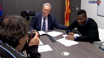 """Contract pe 4 ani si o clauza uriasa. Barcelona si-a asigurat inca un pusti minune: """"Este un vis devenit realitate"""""""