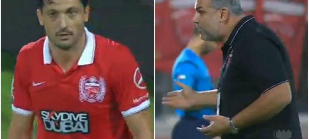 PUNCT FINAL? Radoi, fluierat de tot stadionul dupa un meci slab in Emirate! Olaroiu nu l-a aparat in fata fanilor
