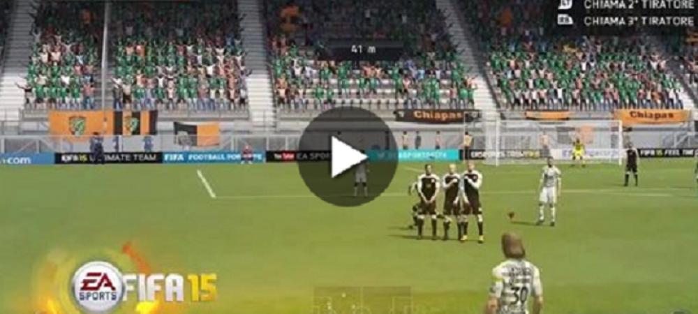 FA-BU-LOS! Lovituri senzationale la FIFA 15! Cum au putut sa dea gol acesti jucatori