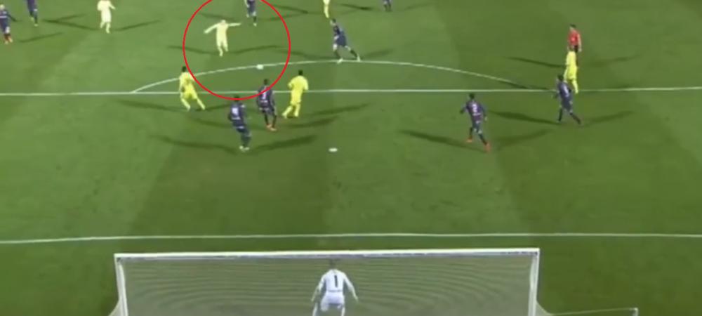 Gol fabulos inscris de Iniesta in meciul de aseara! A trimis mingea direct in vinclu cu un sut fara preluare - VIDEO