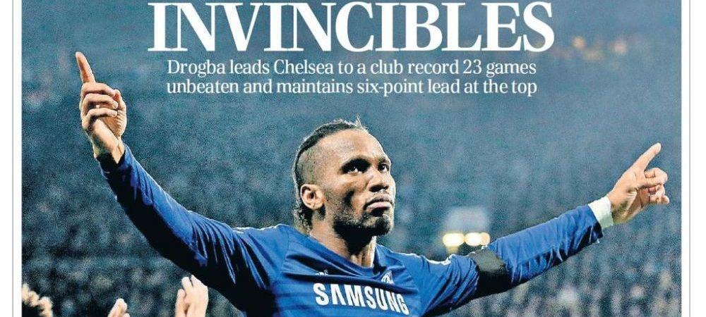 INVINCIBLES! Chelsea domina Anglia si a ajuns la 23 de meciuri fara infrangere! Mourinho il vrea inca un an pe Drogba
