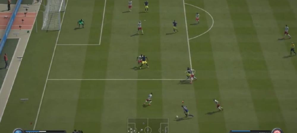 Probabil cel mai tare gol dat la FIFA 15! Acest jucator ia mingea de la marginea terenului, apoi incepe NEBUNIA! Ce a facut