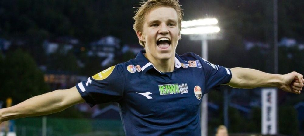 Are 15 ani si e gata sa devina milionar! Noul star al fotbalului poate veni din Norvegia! Odegaard a jucat deja impotriva Stelei