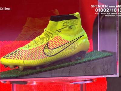 FABULOS: Mario Gotze si-a vandut gheata cu care a dat golul decisiv in finala Mondialului! Suma exorbitanta pe care a primit-o!