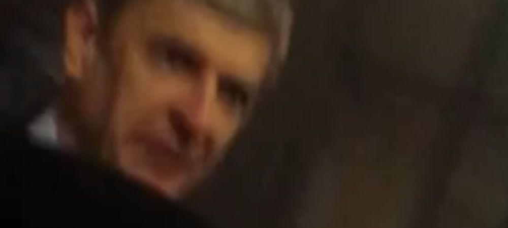"""F**K OFF!"" Scene incredibile traite de Wenger pe strada! Atac fara precedent al fanilor lui Arsenal! VIDEO"