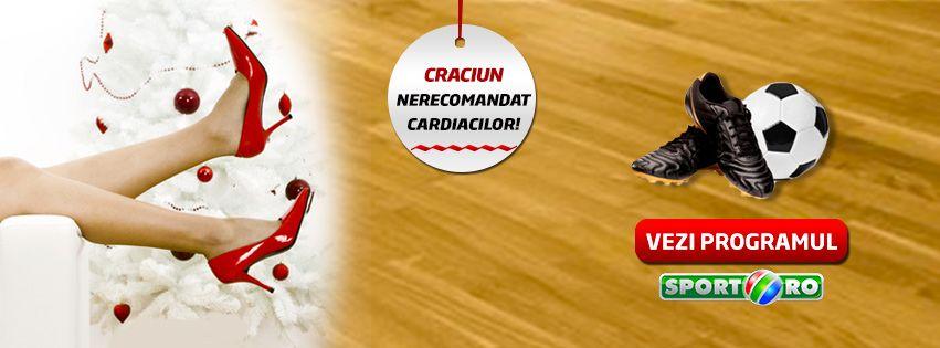 Craciun nerecomandat cardiacilor! Iata vin Spargatorii la Sport.ro! Vezi ce te asteapta :)
