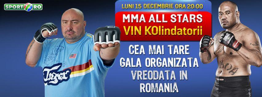 Hai la KOlindat! Castiga 10 invitatii pentru tine si prietenii la cea mai tare gala de MMA organizata in Romania!