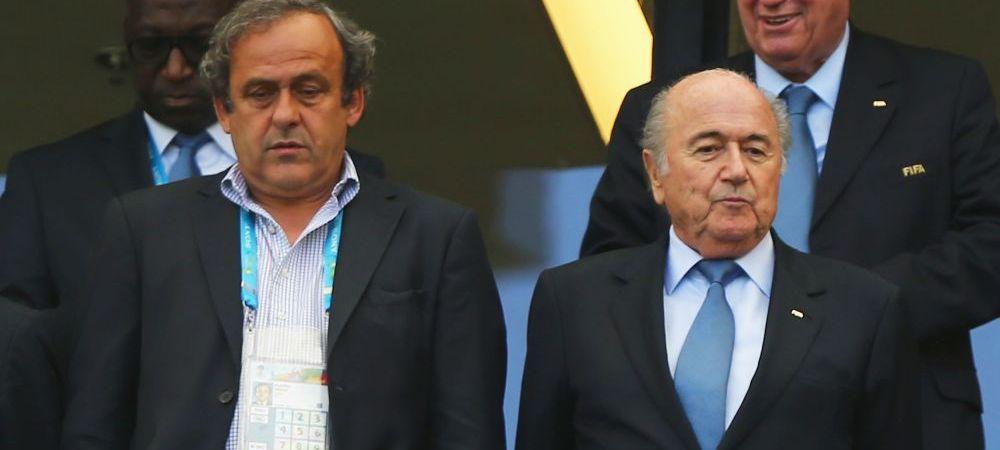 """Atac DUR al lui Platini la SEFUL FIFA! Blatter, acuzat ca a transformat fotbalul in """"ceva foarte urat"""". Ce spune presedintele UEFA"""