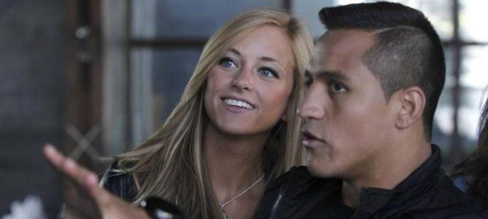 Alexis Sanchez a fost parasit de logodnica! Incidentul JENANT in care a fost implicat fotbalistul lui Arsenal