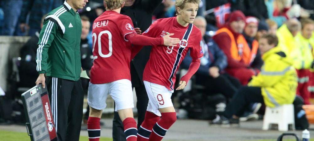 Are 15 ani si e VANAT de Real Madrid, Barcelona si Liverpool, dar poate bifa un transfer NEASTEPTAT! Unde e dorit Odegaard