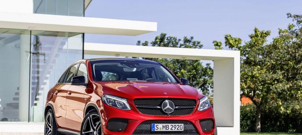 Mercedes a lansat rivalul principal pentru X6. Cum arata GLE Coupe, cel mai nou SUV al nemtilor. FOTO