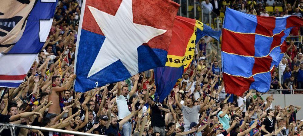 BABA OARBA! Stelistii n-au mai vazut tribune pline pe National Arena de la victoria cu Chelsea! Meciul de aseara, in TOP 5 esecuri