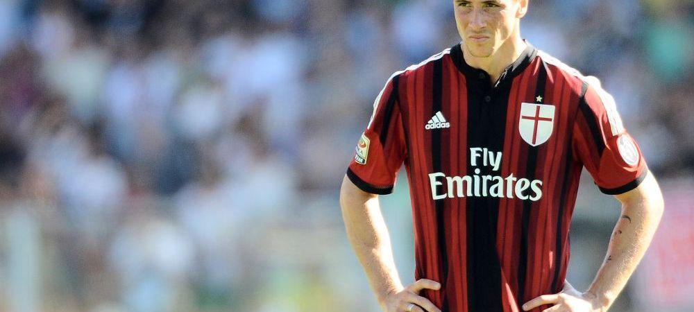 Cosmarul unui fotbalist de 60 de milioane de euro! Fernando Torres nu a convins nici la Milan, Chelsea renunta la el GRATIS