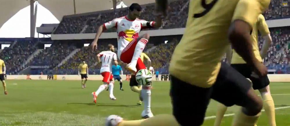 Cel mai SCANDALOS gol marcat vreodata la FIFA 15! Cum a umilit intreaga aparare inainte sa-l execute pe portar. VIDEO