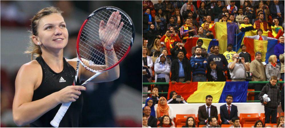 'Simply the best!' Fanii romani ai Simonei Halep, staruri in cel mai tare clip WTA din 2014! VIDEO de senzatie: