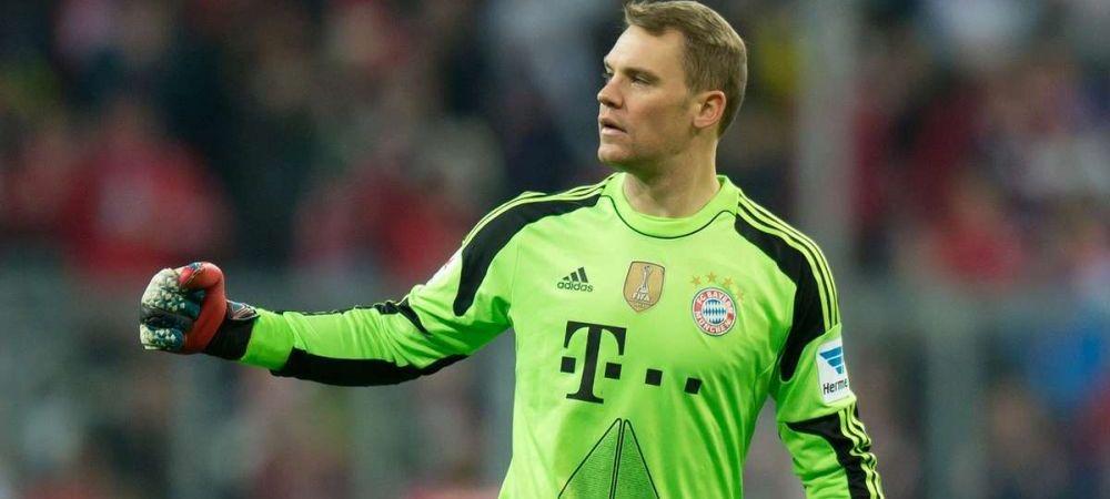 """FOTO """"Intre timp, la Bayern - Freiburg"""" Imaginea serii vine din Germania! Ce facea Neuer in timpul meciului :)"""