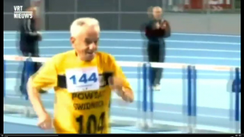 Cat de rapid poate sa fie cel mai batran atlet din lume. Recordurile atinse de acest stra-strabunic la 104 ani. VIDEO