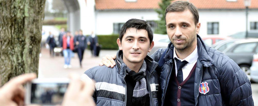 """""""Daca vor sa schimbe ceva, vor schimba!"""" Sanmartean vorbeste despre viitorul lui Galca la Steaua"""