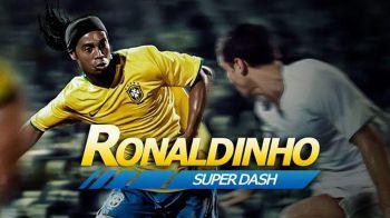 """""""Am o veste buna pentru Romania"""" Anuntul surprinzator facut azi de Ronaldinho pe Facebook! VIDEO"""