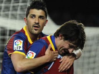 """Plecat de la Barca dupa un conflict cu Messi, David Villa ramane de partea argentinianului: """"E cel mai bun din istorie"""""""