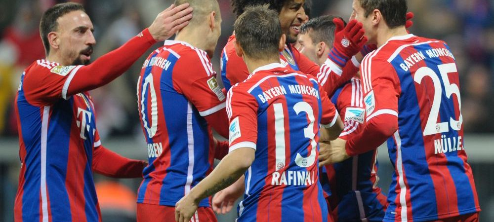 Doar sapte echipe din Europa sunt neinvinse in campionatele interne! Bayern, din nou in fruntea listei
