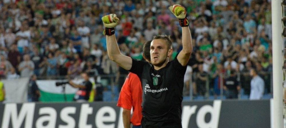 SENZATIE! Moti a fost numit PORTARUL ANULUI in Bulgaria, dupa meciul cu Steaua intrat in istoria lui Ludogorets