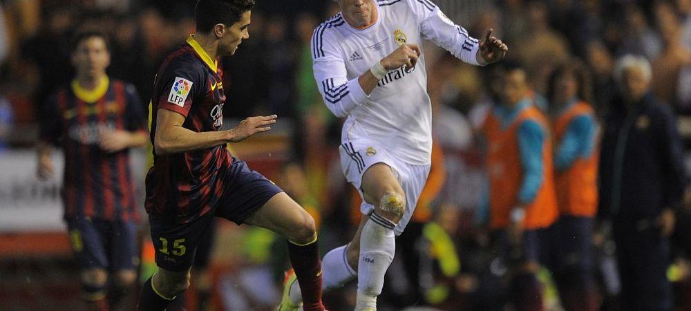"""Gareth Bale, nici macar in top 3 cei mai rapizi fotbalisti din Primera! Starul Realului, depasit si de un """"veteran"""" de 31 de ani"""