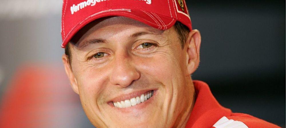 Veste URIASA, la un an de la accident! Cum reactioneaza Schumacher cand isi aude sotia, copiii sau cainii!