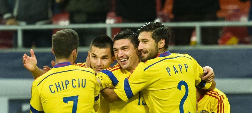 Romania, locul 15 in clasamentul FIFA, la final de an. Nationala a urcat 41 de locuri din 2010! Ultima data cand a fost pe 15, Gica Popescu era capitan