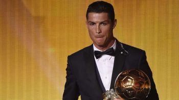 """Cristiano Ronaldo a luat Balonul de Aur pentru a treia oara in cariera: """"Niciodata nu m-am gandit ca voi reusi asa ceva!"""" Gest incredibil dupa ce a castigat trofeul"""