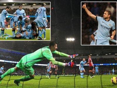 Pantilimon a luat cea mai mare nota in City 3-2 Sunderland! Reactia geniala a celor doi antrenori dupa meci! Ce au spus despre el