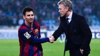 """Multumesc ca ai venit, Leo"" Imaginea senzationala cu Moyes si Messi devenita viral pe internet dupa bataia luata de Barcelona"