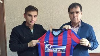 """""""E un vis implinit!"""" Prima reactie a celui mai nou transfer al Stelei, prezentat cu un tricou FARA SIGLA"""