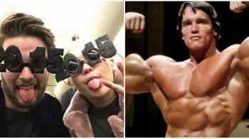 """Miley Cyrus sau 50 de milioane de dolari? Arnold Schwarzenegger a TURBAT dupa ce fiul sau s-a """"combinat"""" cu celebra cantareata"""