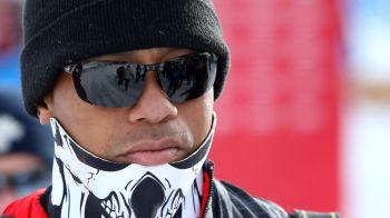 Situatie jenanta pentru Tiger Woods! Cum si-a pierdut un dinte pe partie. Imaginea pe care toti fotografii au vrut s-o prinda
