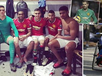 Valdes a devenit MENTOR pentru pustii lui Manchester United! Povestea EMOTIONANTA transmisa inainte de primul meci ca titular