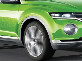 Surpriza de la Volkswagen! Primul SUV Polo se lanseaza la Salonul Auto de la Geneva! Imagini in premiera: