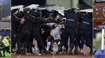 FOTO REVOLTA la CAN! Fanii gazdelor au fost opriti cu ELICOPTERUL! Momentul in care a inceput MASACRUL