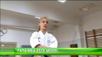 O cheama Inna si vrea sa cucereasca si ea lumea! Fetita de 10 ani care viseaza sa faca performanta la KARATE: VIDEO