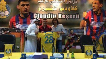Keseru, prezentat oficial la Al Gharafa! Atacantul si-a ales acelasi numar cu care a jucat si la Steaua: FOTO