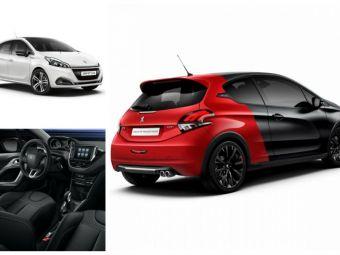 Galerie FOTO: Peugeot 208 facelift. Primele imagini oficiale inaintea lansarii de la Geneva