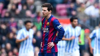 SOC pe Camp Nou! Barcelona pierde cu Malaga, dupa o gafa uriasa a lui Dani Alves. Real Madrid se poate duce la 4 puncte in fata