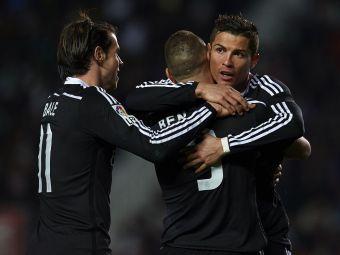 Ronaldo Madrid   Starul Realului scrie istorie in tricoul Realului si e tot mai aproape de Raul! CR s-a distantat si de Leo Messi in topul pentru Gheata de Aur