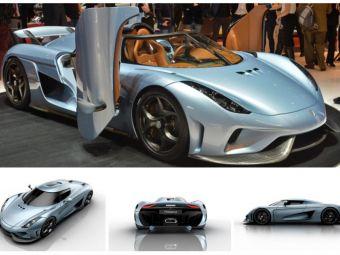 FABULOS! Suedezii au prezentat REGINA: masina fara cutie de viteze care bate recordul mondial de viteza! Cele mai tari masini de la Geneva