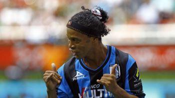 Milioane de emotii pentru Ronaldinho. Statea pe banca de rezerve, cand asta i s-a intamplat. Tot stadionul a aplaudat. VIDEO