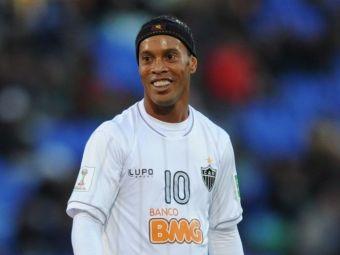 Ce cadouri primesti cand te cheama Ronaldinho :) Starul brazilian, surprins de LeBron James! Ce i-a dat americanul | FOTO
