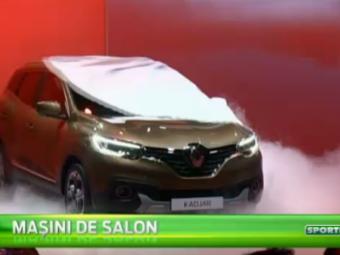 VIDEO   Cele mai tari masini lansate la Geneva. Kadjar, noul model de la Renault, opera unui ROMAN! Vezi cum arata