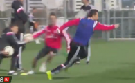 Ronaldo IREAL: cum si-a uimit portughezul colegii la antrenament! Toti l-au aplaudat, desi Ronaldo nu a atins mingea VIDEO
