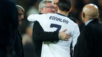 Se pregateste cel mai mare transfer din istoria fotbalului: Ferguson a mers la Madrid sa-l convinga pe Ronaldo sa se intoarca la United
